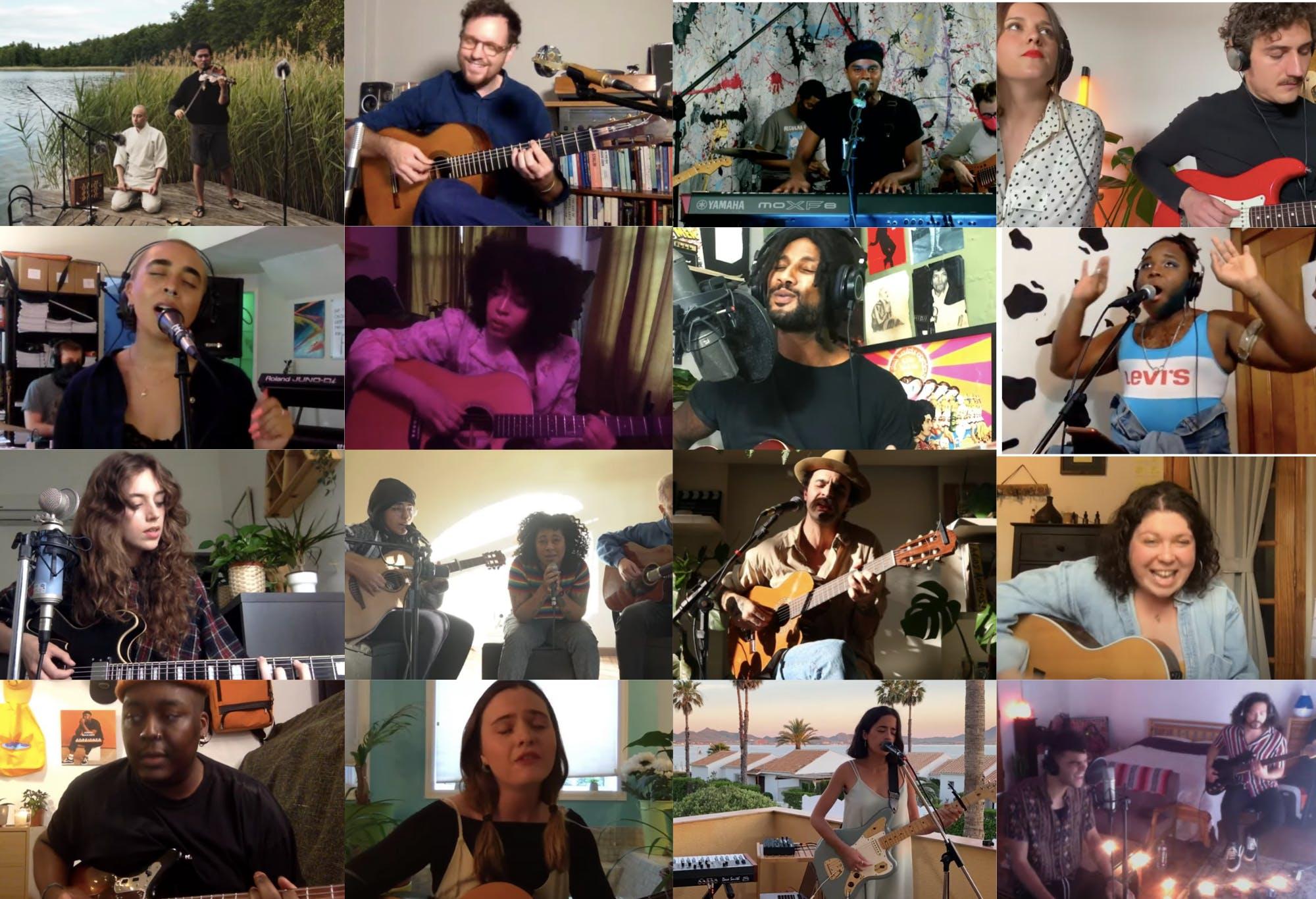 Celebrating 100 Streams in the Sofar Listening Room