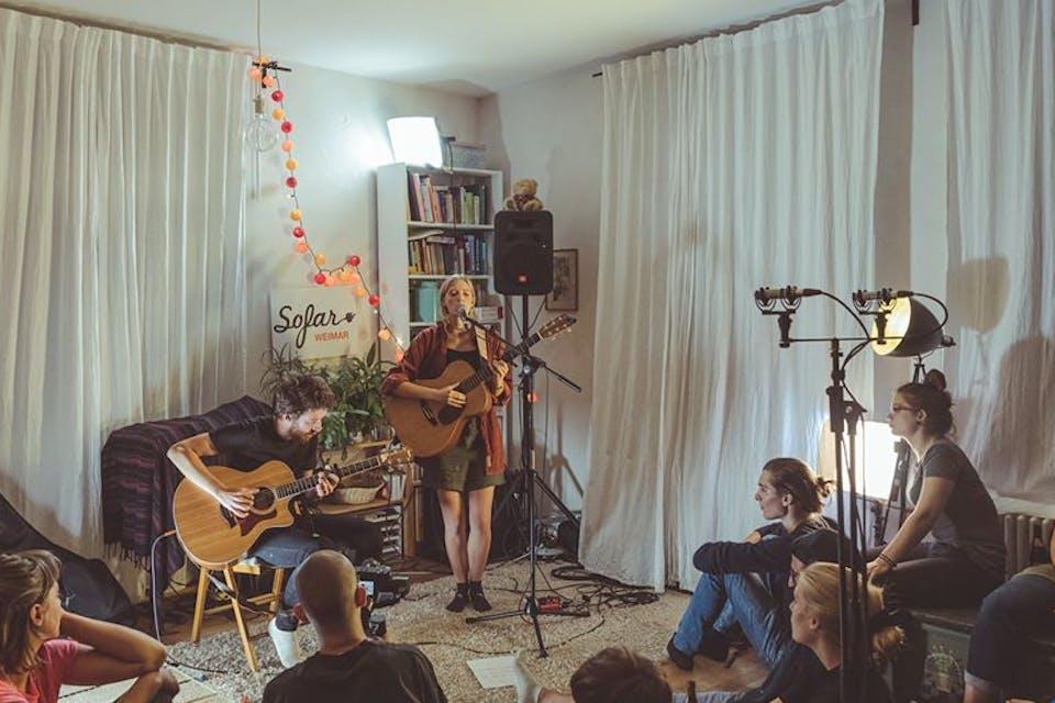 Meet the Artists | Sofie Thon + Ertuğrul Güney's Sofar Love Story