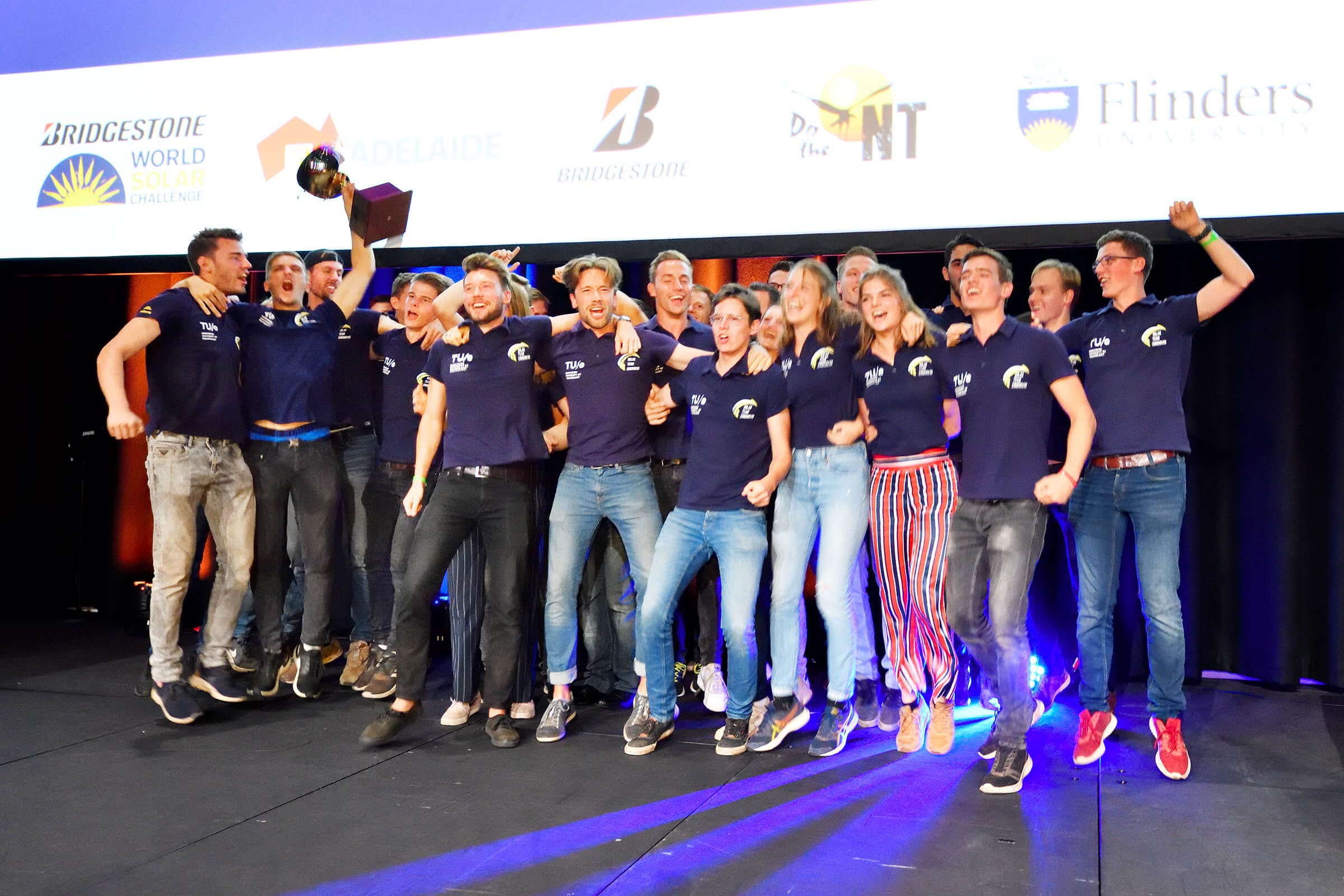 Solar car TU Eindhoven wins World Solar Challenge for the fourth time in a row