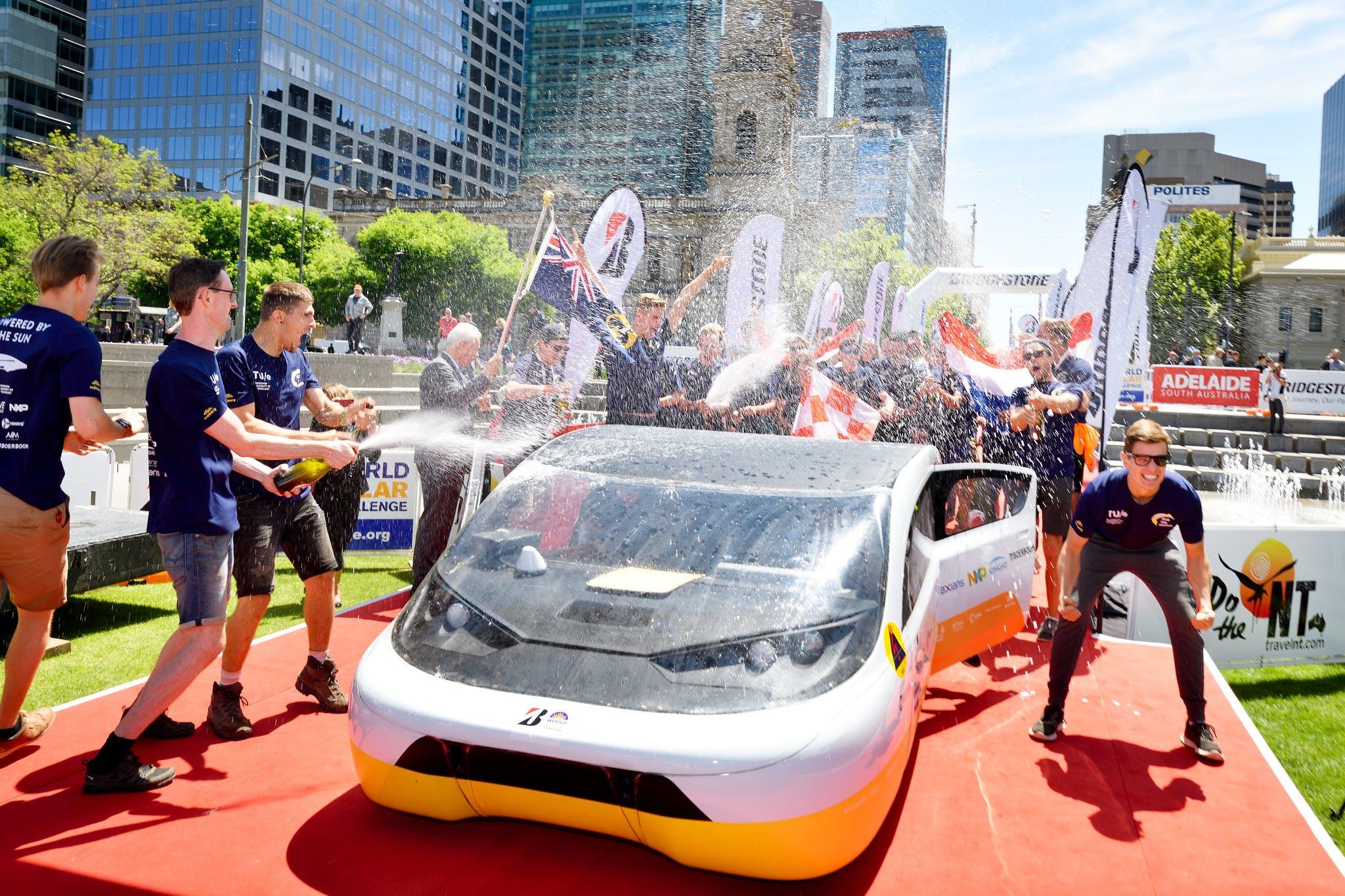 Solar Team Eindhoven wins Bridgestone World Solar Challenge in Australia