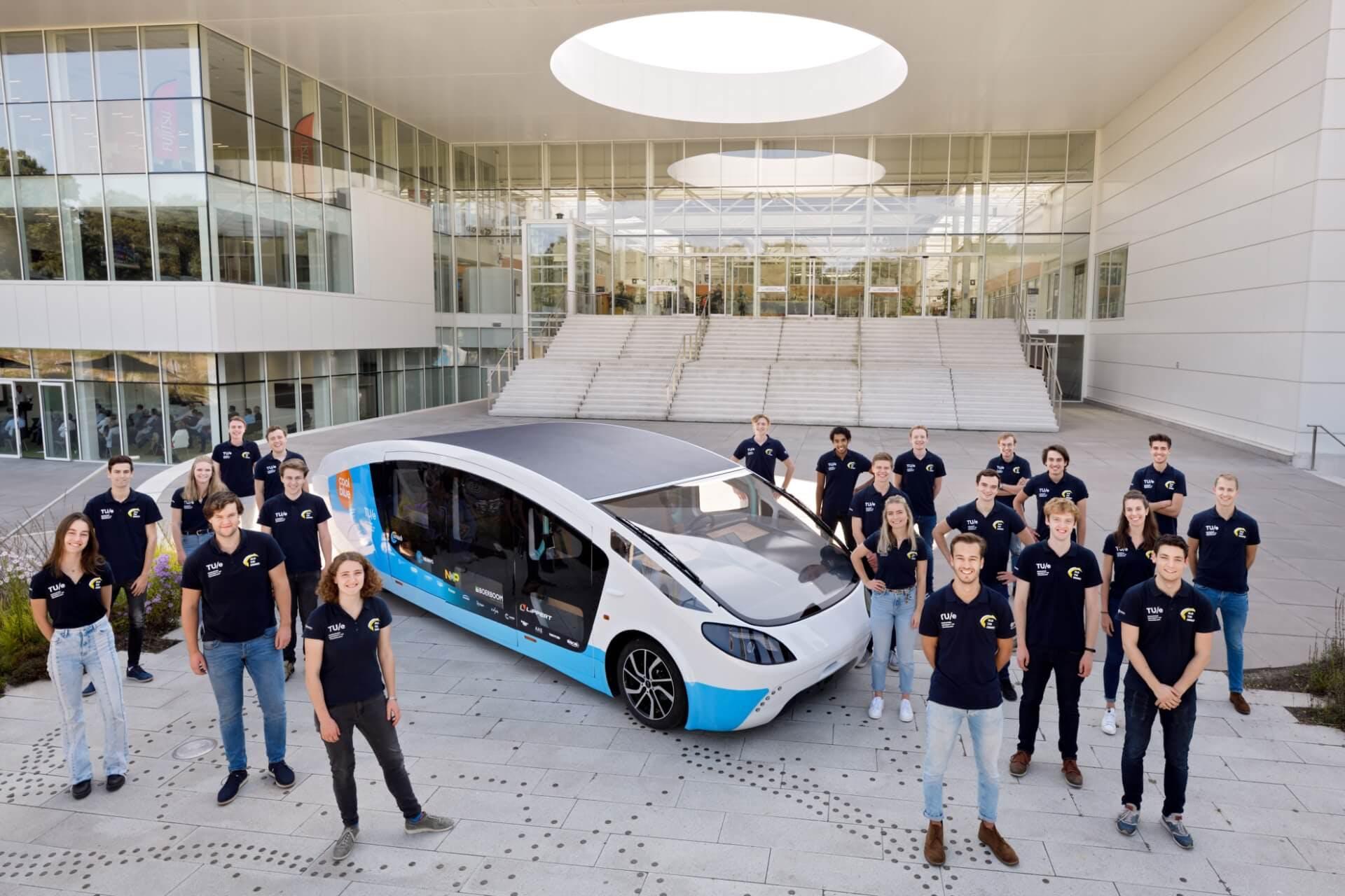 Presenting our newest solar-vehicle: Stella Vita!