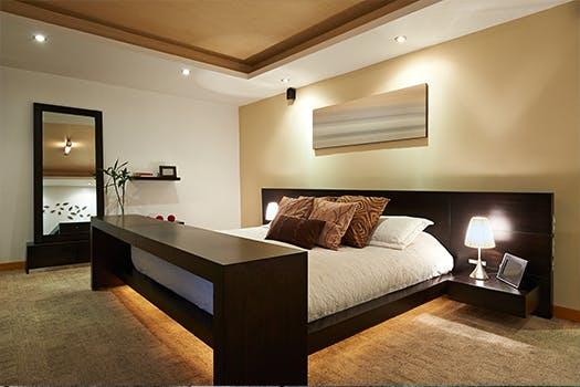 Verlichting - de slaapkamer