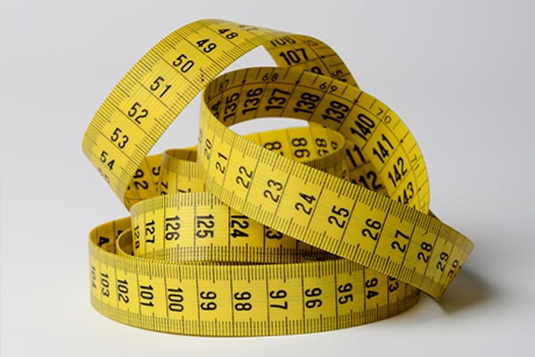 Hoe meet je de lengte en breedte op?
