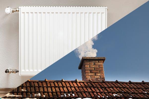 een winterproof huis - schoorsteen en verwarming
