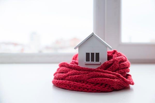 een huisbezoek in de winter