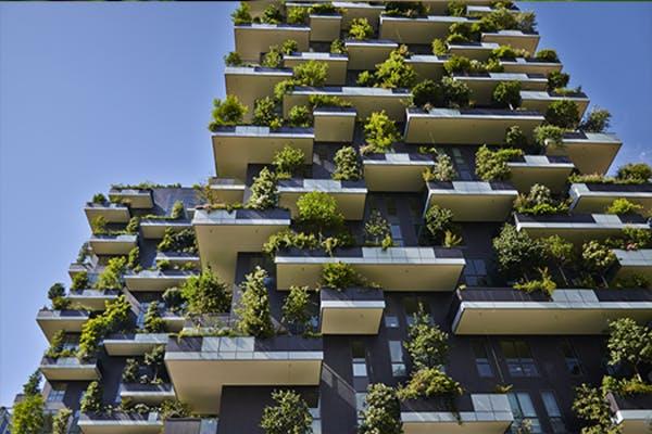 het wonen van morgen - verticaal en duurzaam bouwen