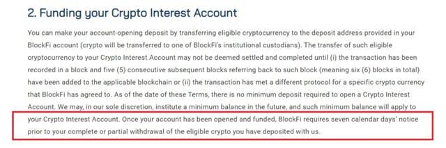 Crypto funding