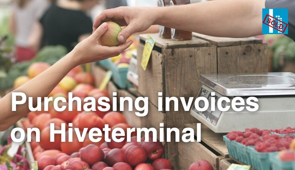 Purchasing Invoices on Hiveterminal