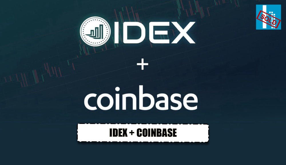 IDEX now available on coinbase
