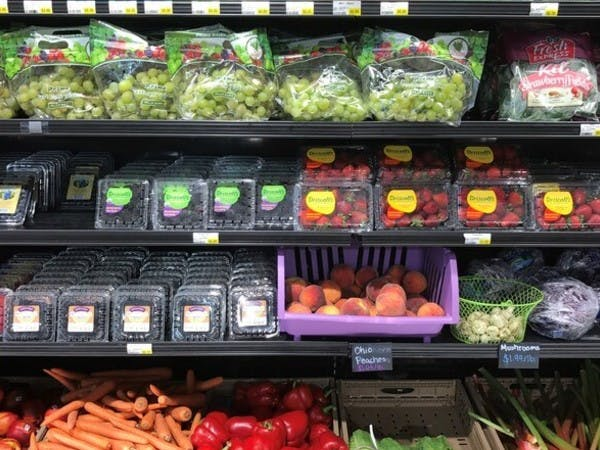 Different produce items