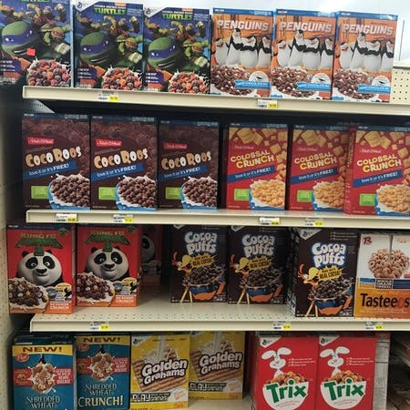 Discount Cereal