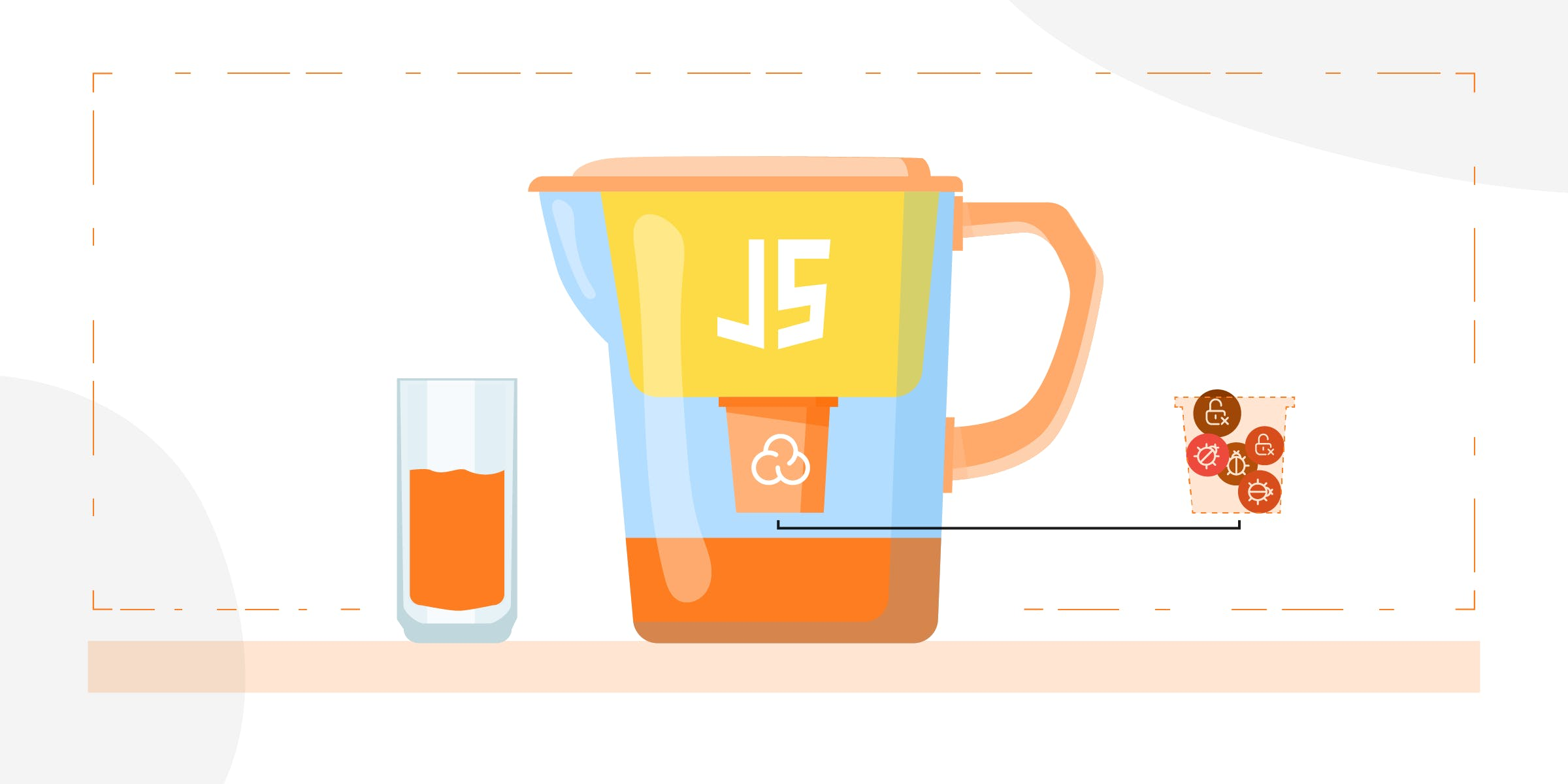 Our JavaScript and TypeScript SAST engines filter the Vulnerabilities out of OWASP JuiceShop.