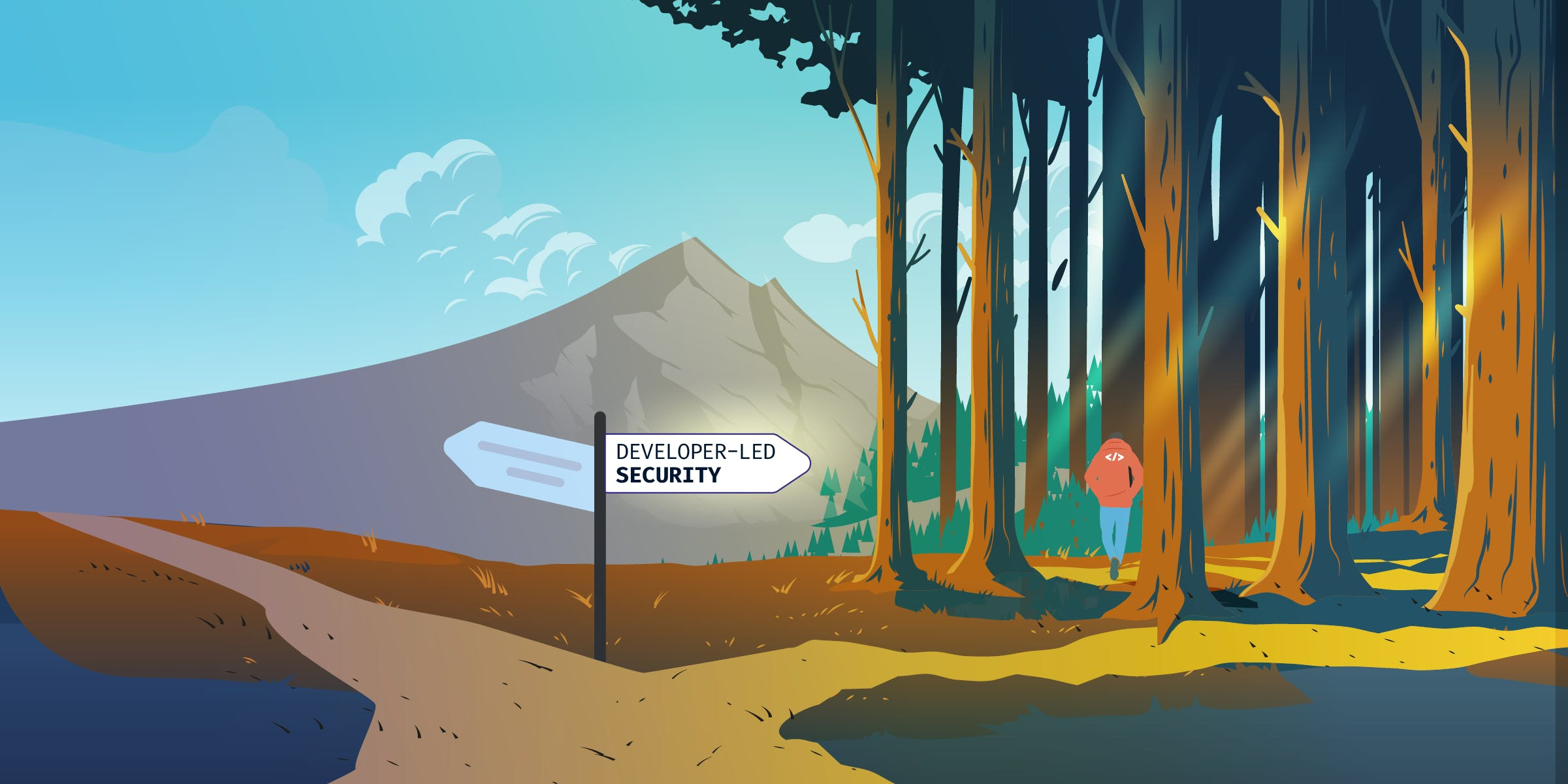 A Developer takes the path less traveled by: Developer-led Code Security.