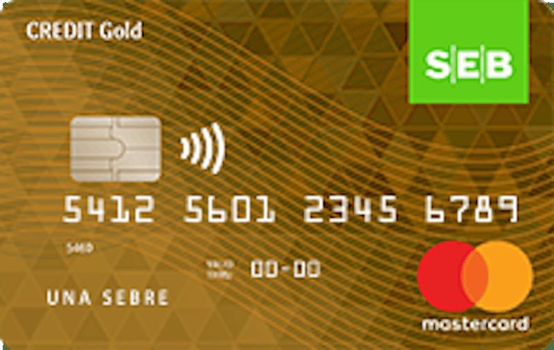 SEB kredītkarte