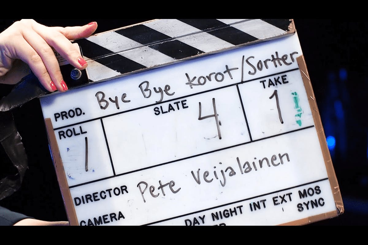 Bye Bye korot -musavideon kuvausten klaffi