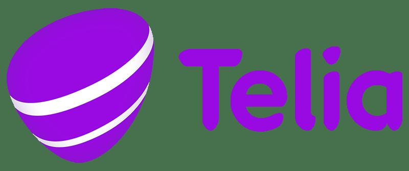 Matkapuhelinoperaattori Telian logo