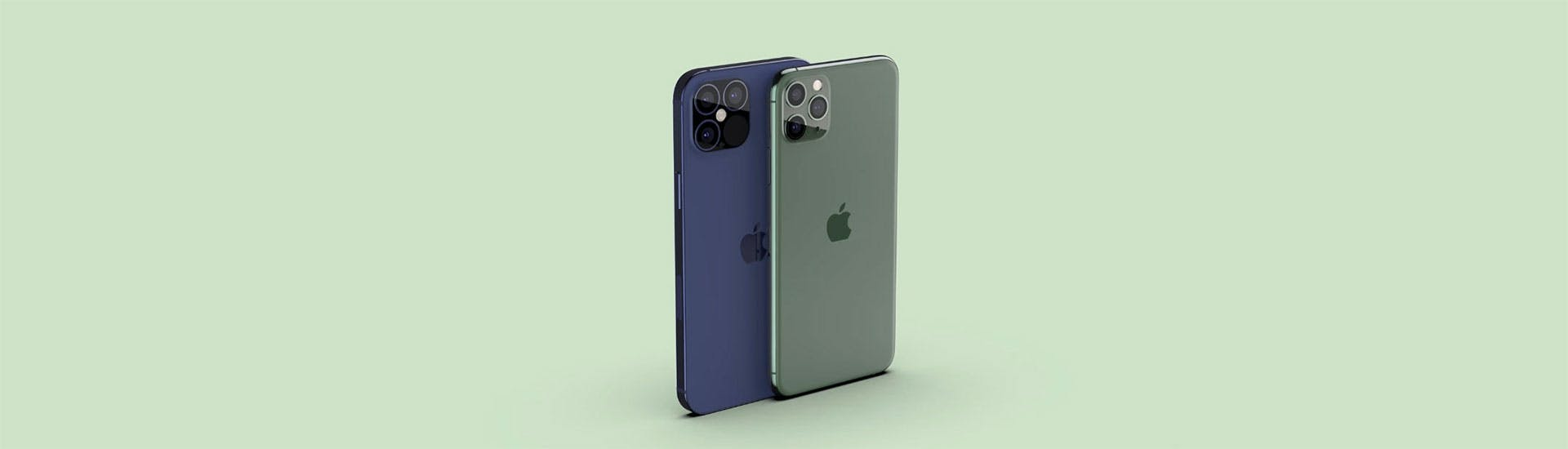 iPhone 12 -puhelimen mockup (kuva: EverythingApplePro)