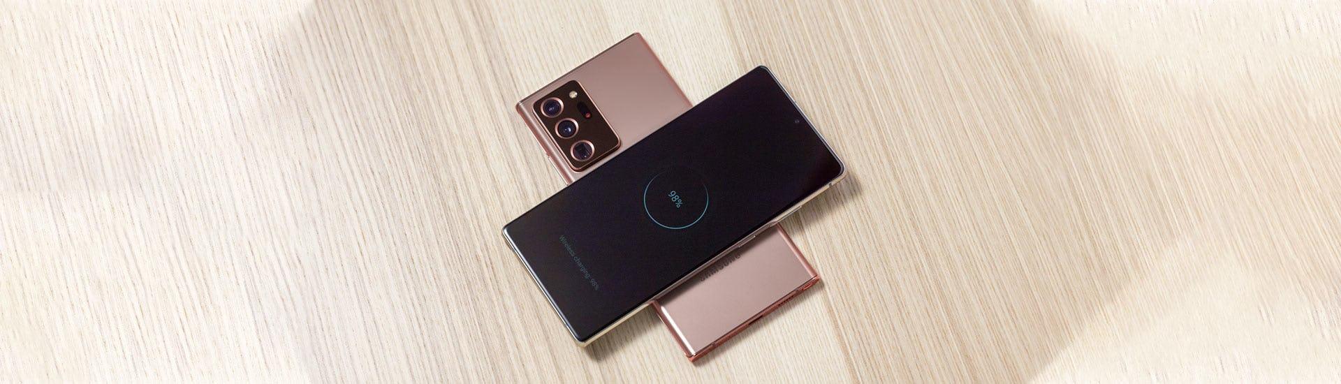 Samsung Galaxy Note 20 -puhelin tukee nopeaa 5G-tekonologiaa