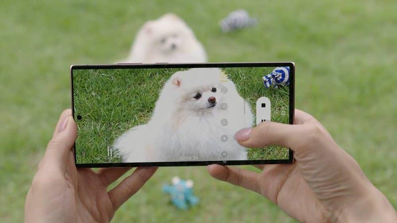 Galaxy Note 20 -puhelimissa on huipputason 5x tai 3x optiset zoomit