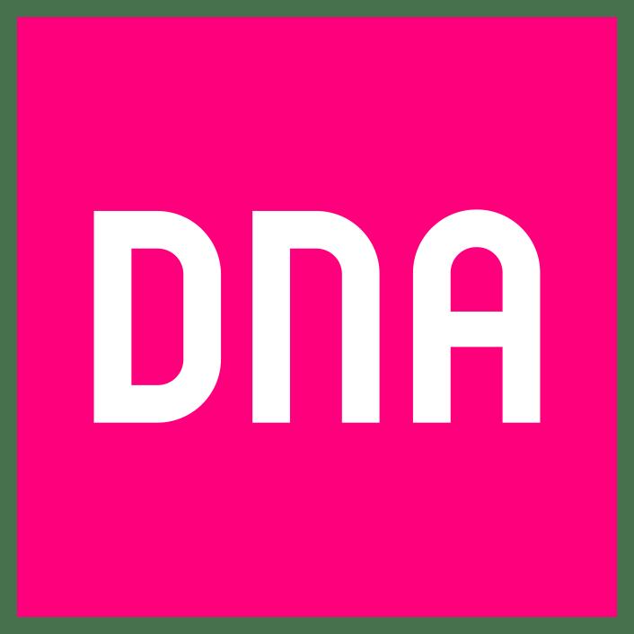 Matkapuhelinoperaattori DNA:n logo