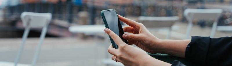 Verkkokauppaostos puhelimella