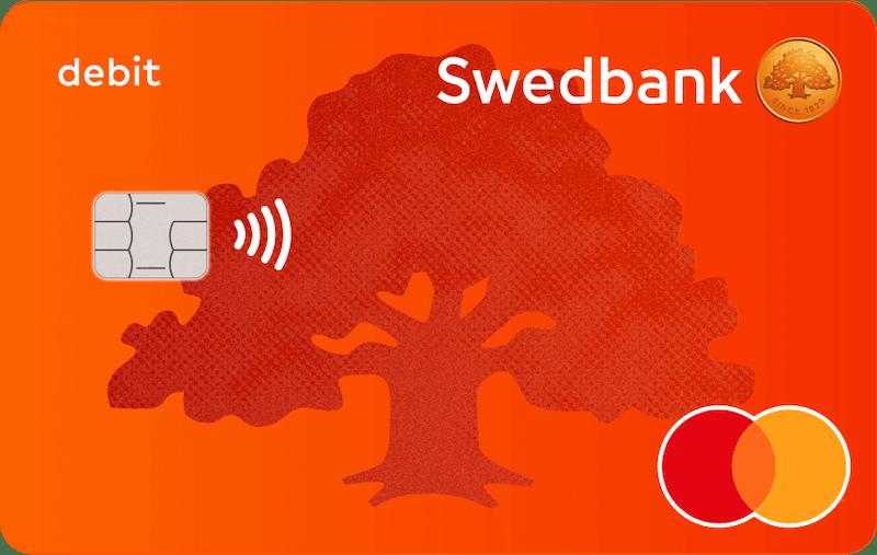 Swedbank debetkarte
