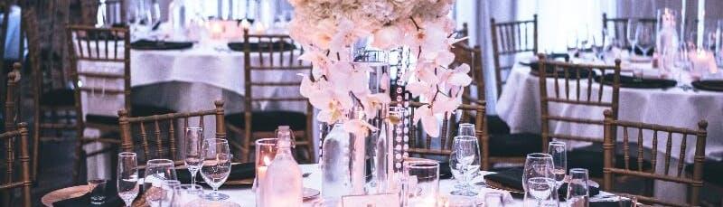 Декорации свадьбы и бюджет