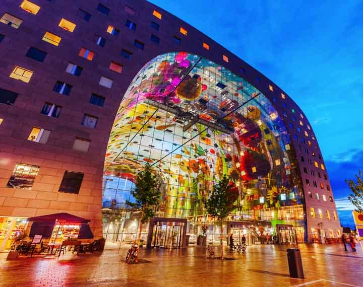 Market Hall in Roterdam