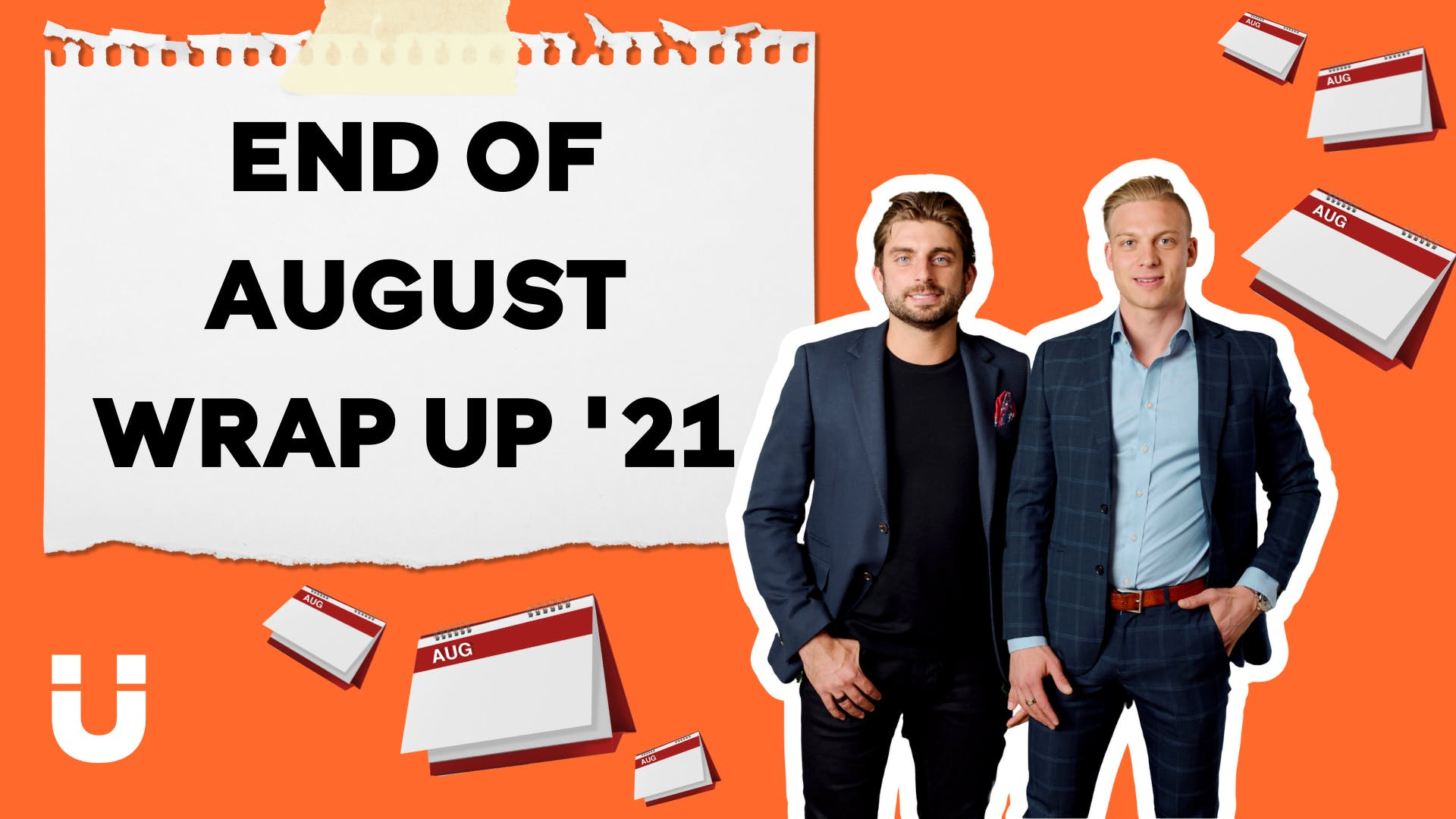 The time has come for an End of August Wrap Up with none other than Sourci Founders Giovanni and Ellie 🎉🙌