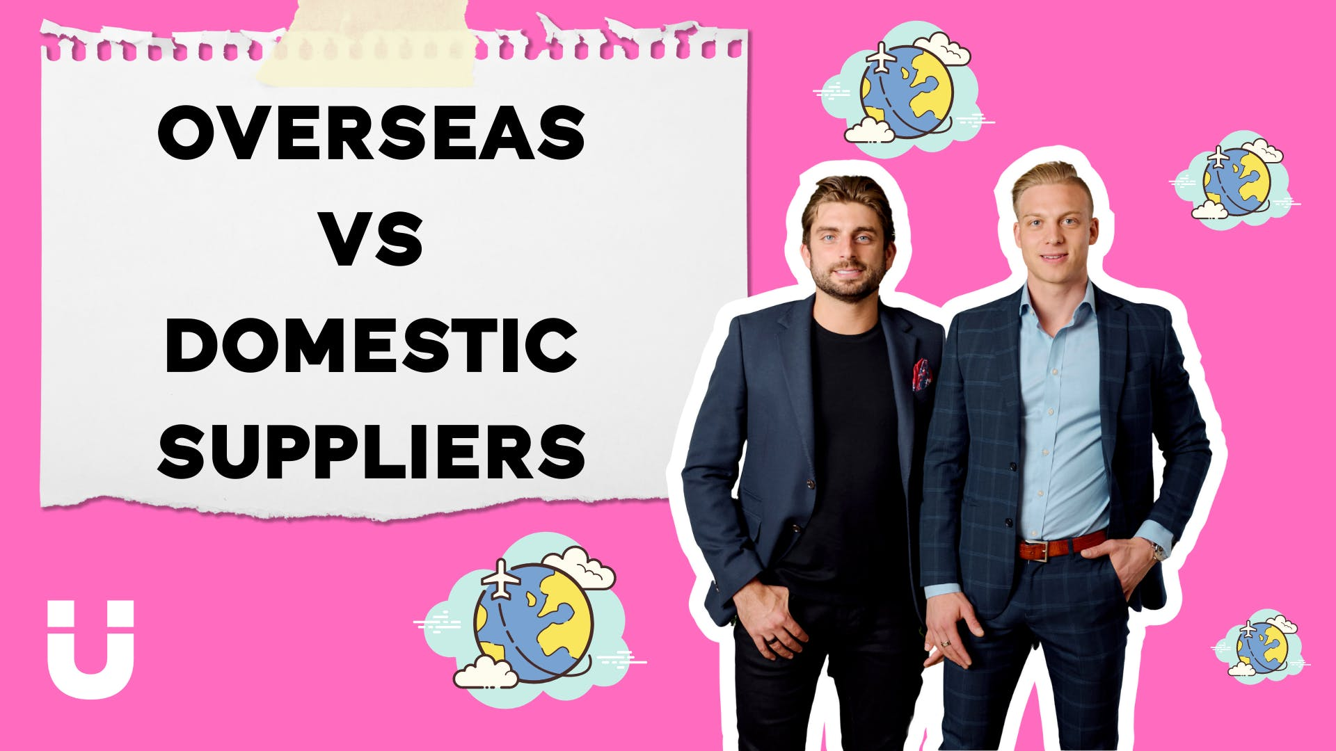 Overseas VS Domestic suppliers... Sourci Founders Giovanni Pino and Ellie Vaisman sit down to chat about the advantages and disadvantages of working with domestic and overseas suppliers!