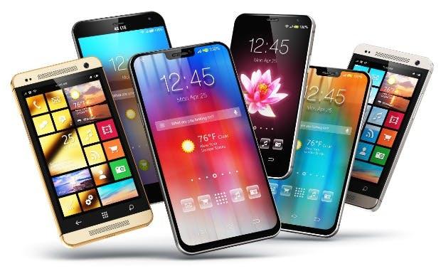 Lots of Mobile Phones