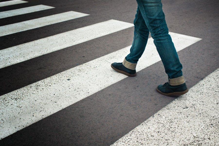 Pedestrian walk