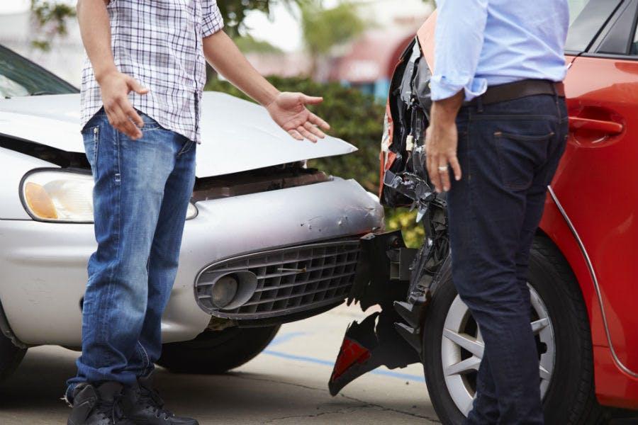 Car crash mediation