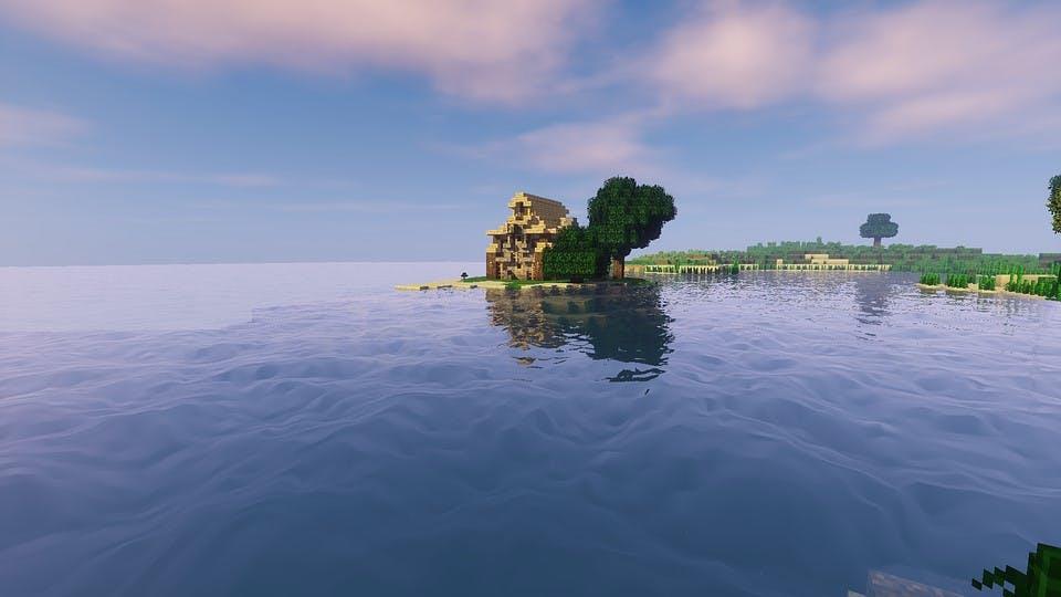 Ansicht aus Minecraft