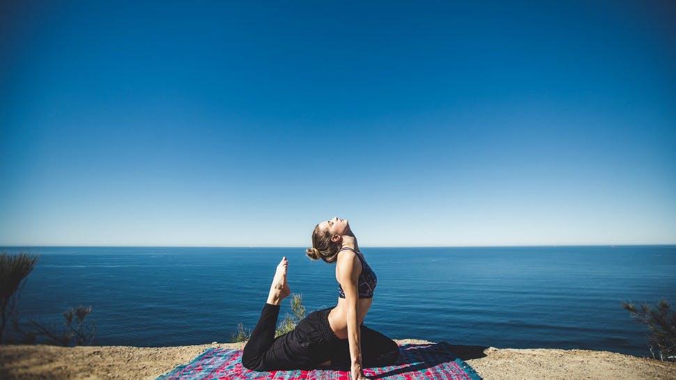 Fit durch Yoga