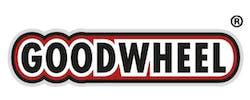 goodwheel logo auf weißem grund