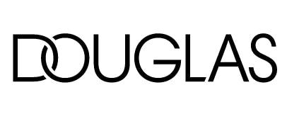 Douglas Schriftzug auf weißem Grund