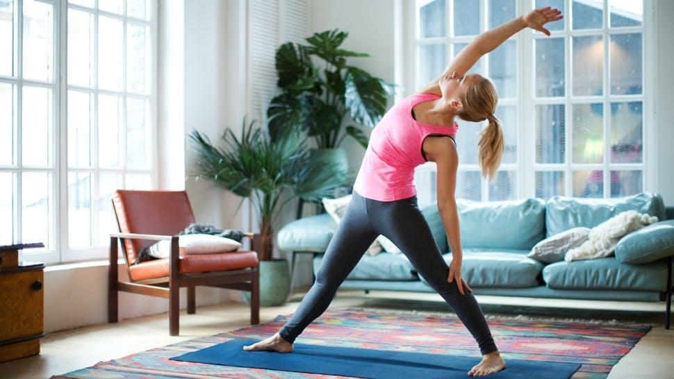 Fitness zu Hause: Sportprogramm in den eigenen vier Wänden