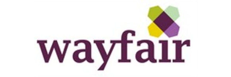 Wayfair Schriftzug auf weißen Grund
