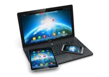 Laptop, Handy und mehr