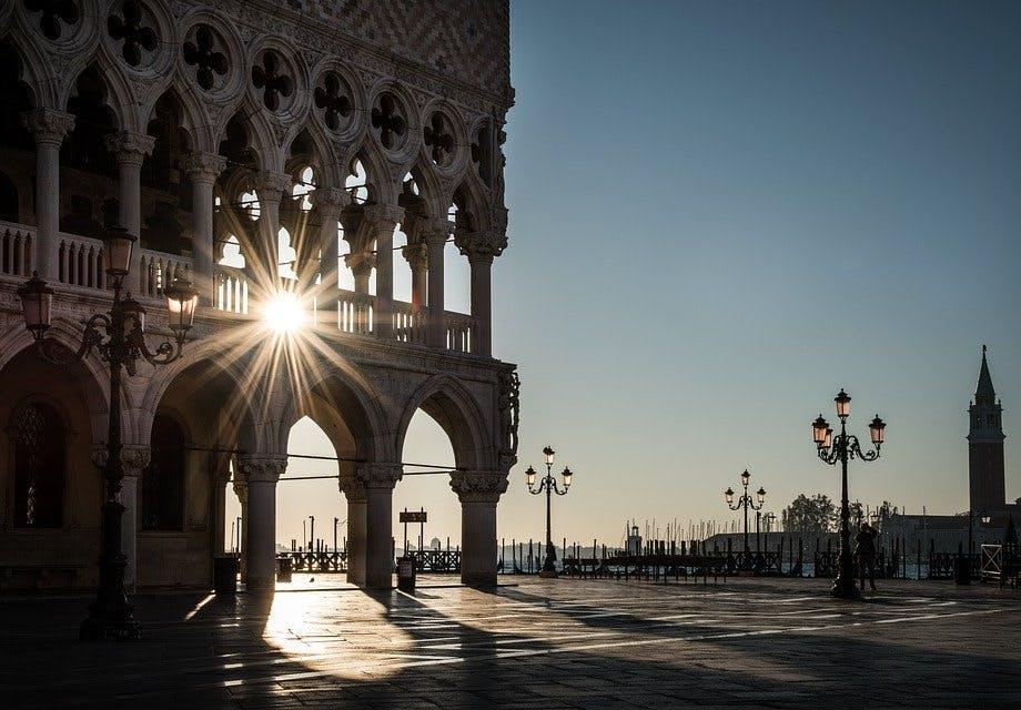 Dogen-Palast in Venedig