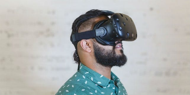 Virtual Reality Brillen Test
