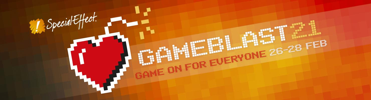 GameBlast 2021 banner