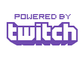 powered by twitch