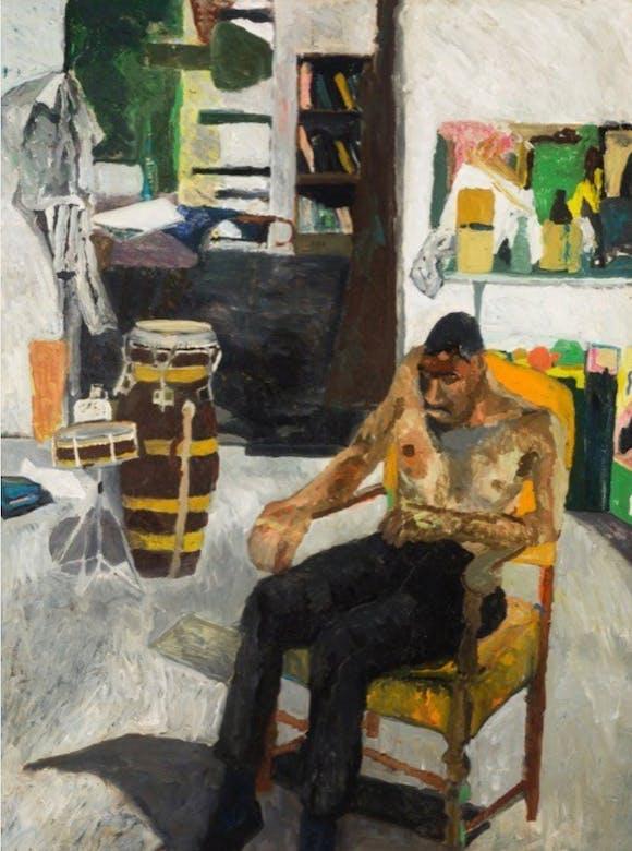 <i>Self Portrait in the Studio</i>