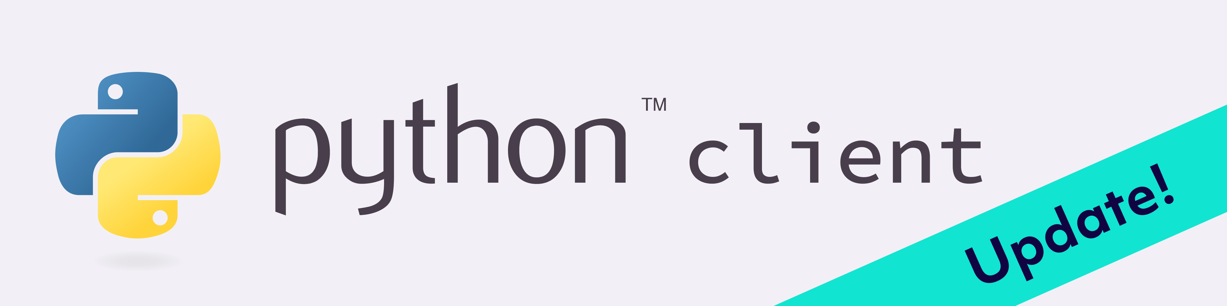 python client update