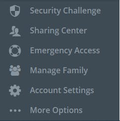 How to share your Lastpass subscription ?