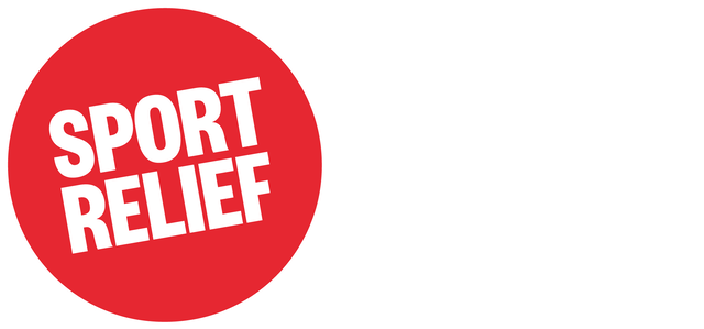 Sport Relief logo - It's game on