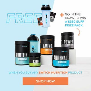 Win this month with Switch Nutrition!