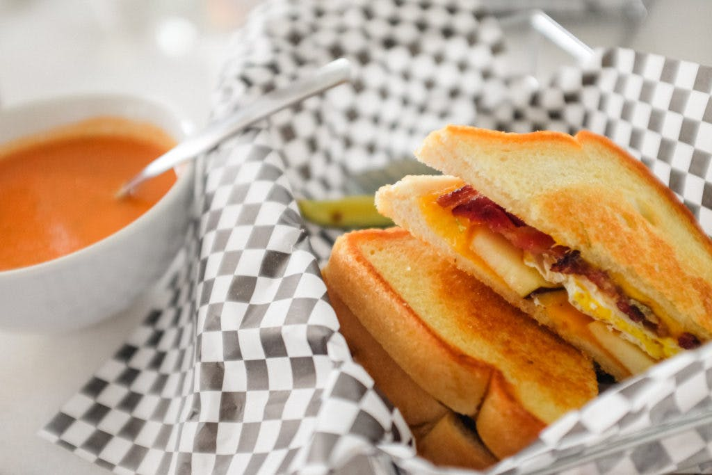 Druffs Grilled Cheese.